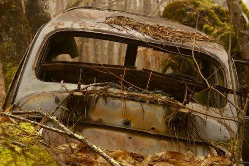 Rusty Car, Nabirat, France.